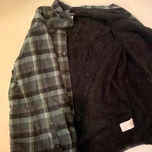 Columbia fleece lined flannel